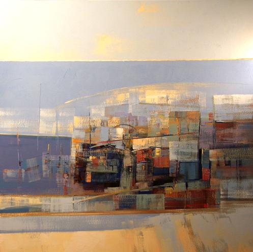 M a x l o y la pittura astratta la forza emotiva del for Quadri pittura astratta