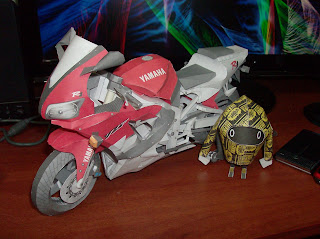 Papercraft: Yamaha® R1 (Masterpiece)   We Don't Need Fake By Shin