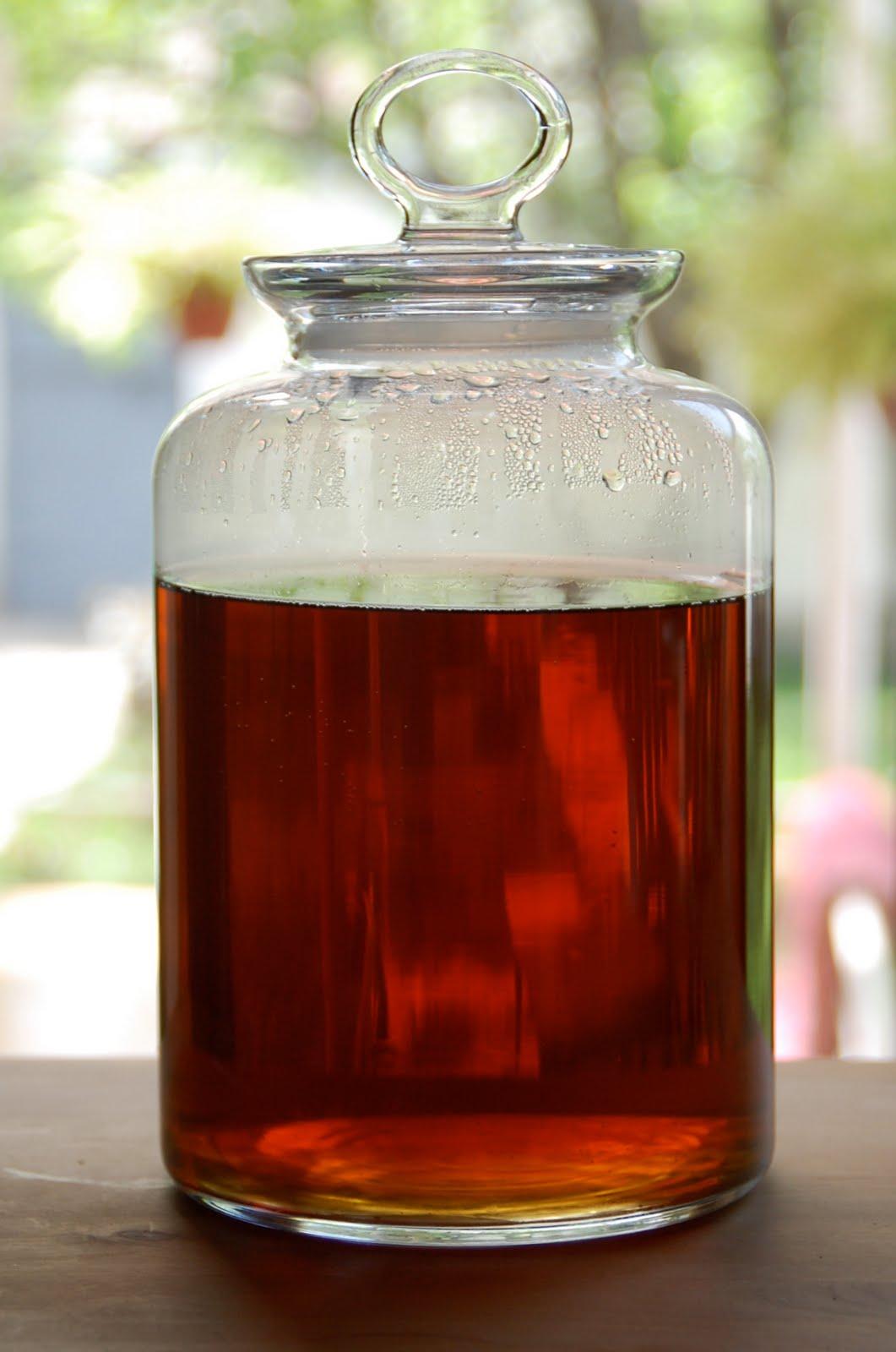 From Scratchistan: Rooibos Mint Sun Tea From Scratch