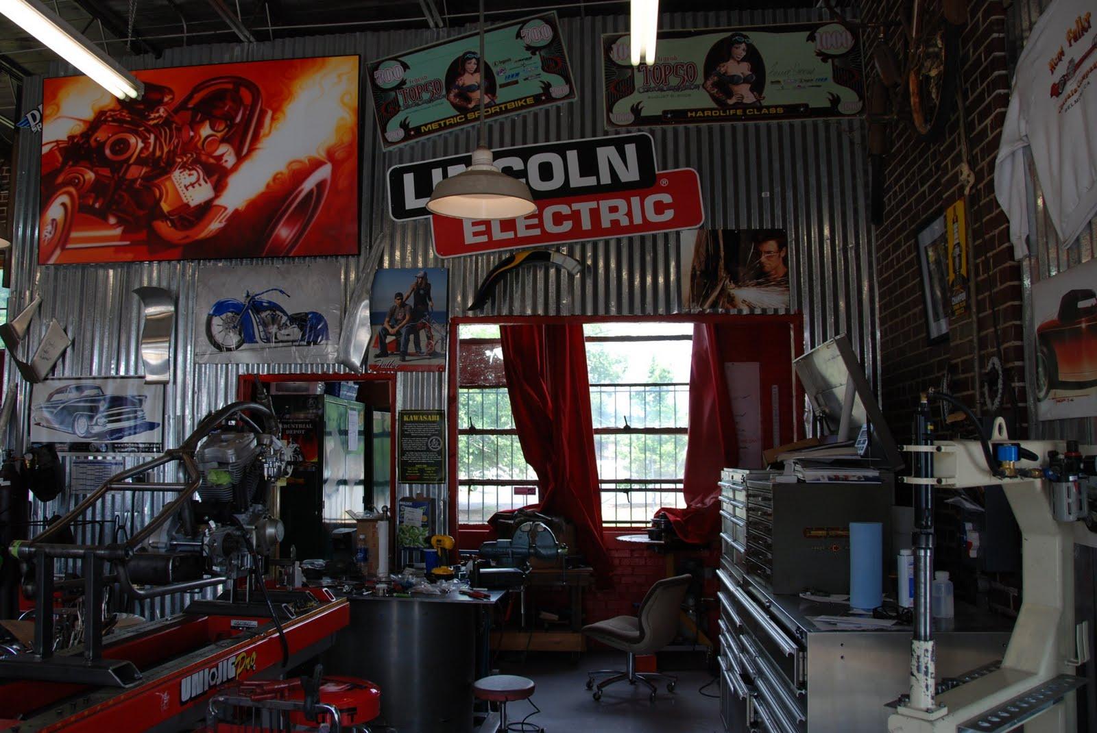 The legendary garage april 2010 for Garage cools