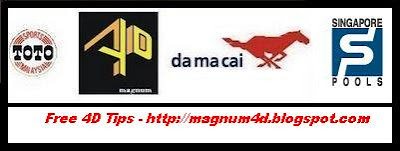 MAGNUM 4D | DA MA CAI | SPORTS TOTO | SINGAPORE POOLS | MAGNUM RESULT ...