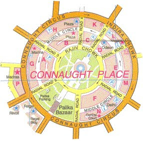 Cannaught Place Delhi