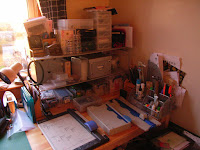CraftyStudy cutting area