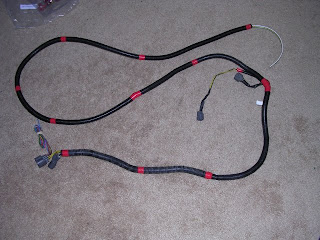 open source civic ev kit preparing the engine wiring harness