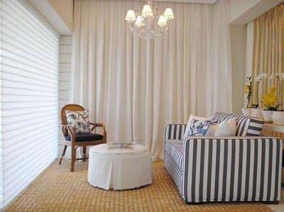 cortinas para apartamentos pequenos