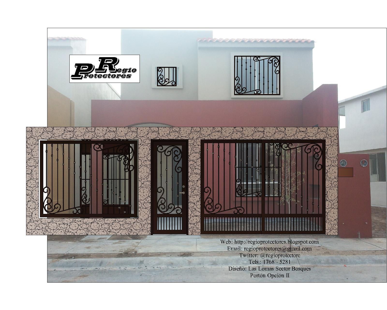 Related pictures puertas portones casas modernas hogar - Puertas para casas modernas ...