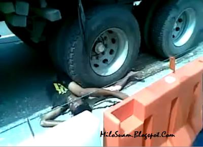 Video kemalangan ngeri
