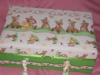 Cajas artesanales lm cajas para beb s - Cajas de carton decoradas para bebes ...