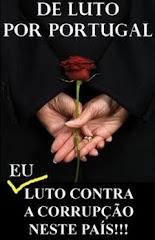 De luto pela corrupção em portugal