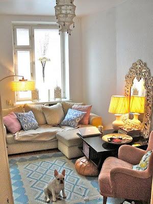 Living Room on My Living Room   Boho Chic