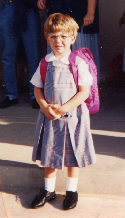 Madde Gibba First Day of School Visitation