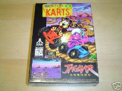 Atari Karts Box