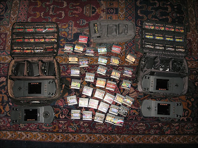 Atari Lynx Games Accessories Collection