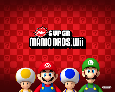 New Super Mario Bros. Wii Wallpapers freeware