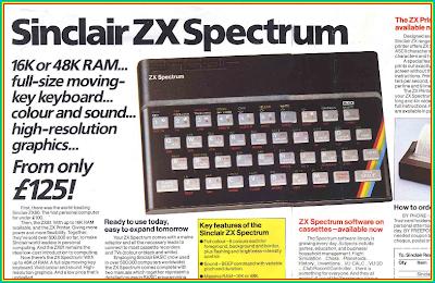 Classic ZX Spectrum ad