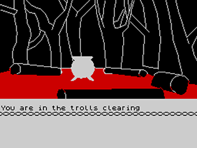 The Hobbit text adventure