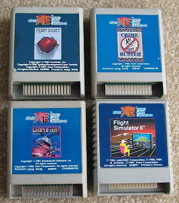 XE GS games carts cartridges