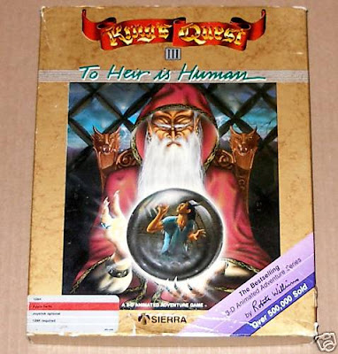 King's Quest III 3 Apple II box