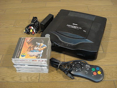 SNK Neo Geo CD top loader