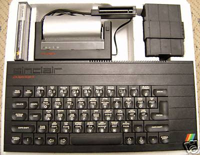 ZX Spectrum + Sinclair ZX Printer Speccy Plus