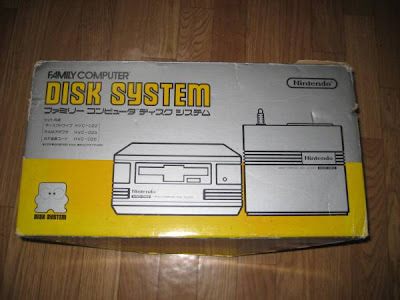 Nintendo Famicom Disk System box Family Computer Drive boxed