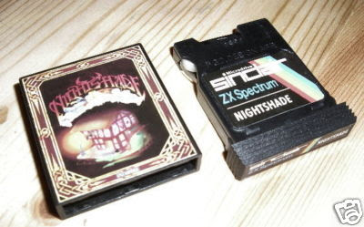 Nightshade Microdrive Spectrum Ultimate Play the Game