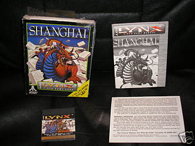 Shanghai Atari Lynx