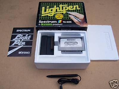 Spectrum Light Pen Lightpen DK tronics