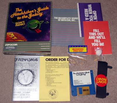 The Hitchhiker's Guide to the Galaxy Infocom