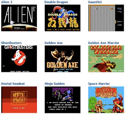 Master System emulation