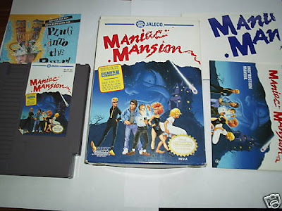 Maniac Mansion NES Jaleco