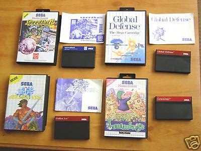 SMS 8-bit games