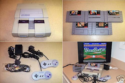 Nintendo SNES NTSC games