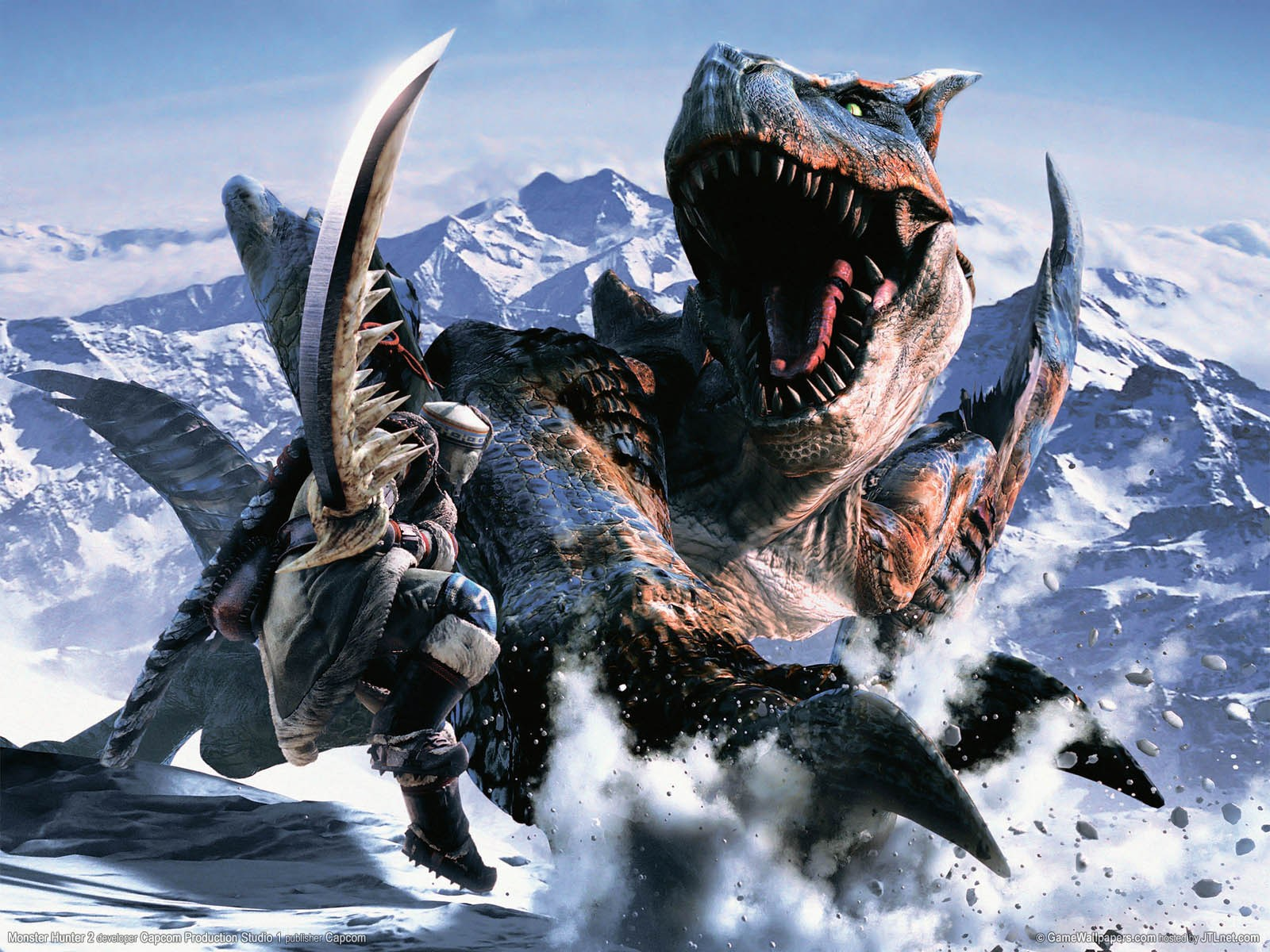Walls of Gaming: Excellent Monster Hunter Tri Wallpapers