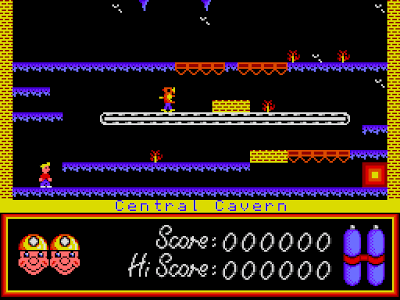 Manic Miner Sam Coupe Wiz