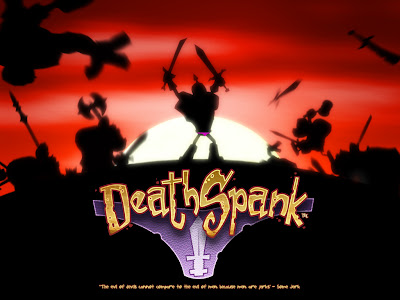Deathspank Wallpaper