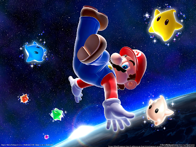Mario Galaxy Wallpaper