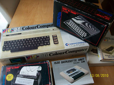 commodore vic 20 sinclair zx81 vintage computers