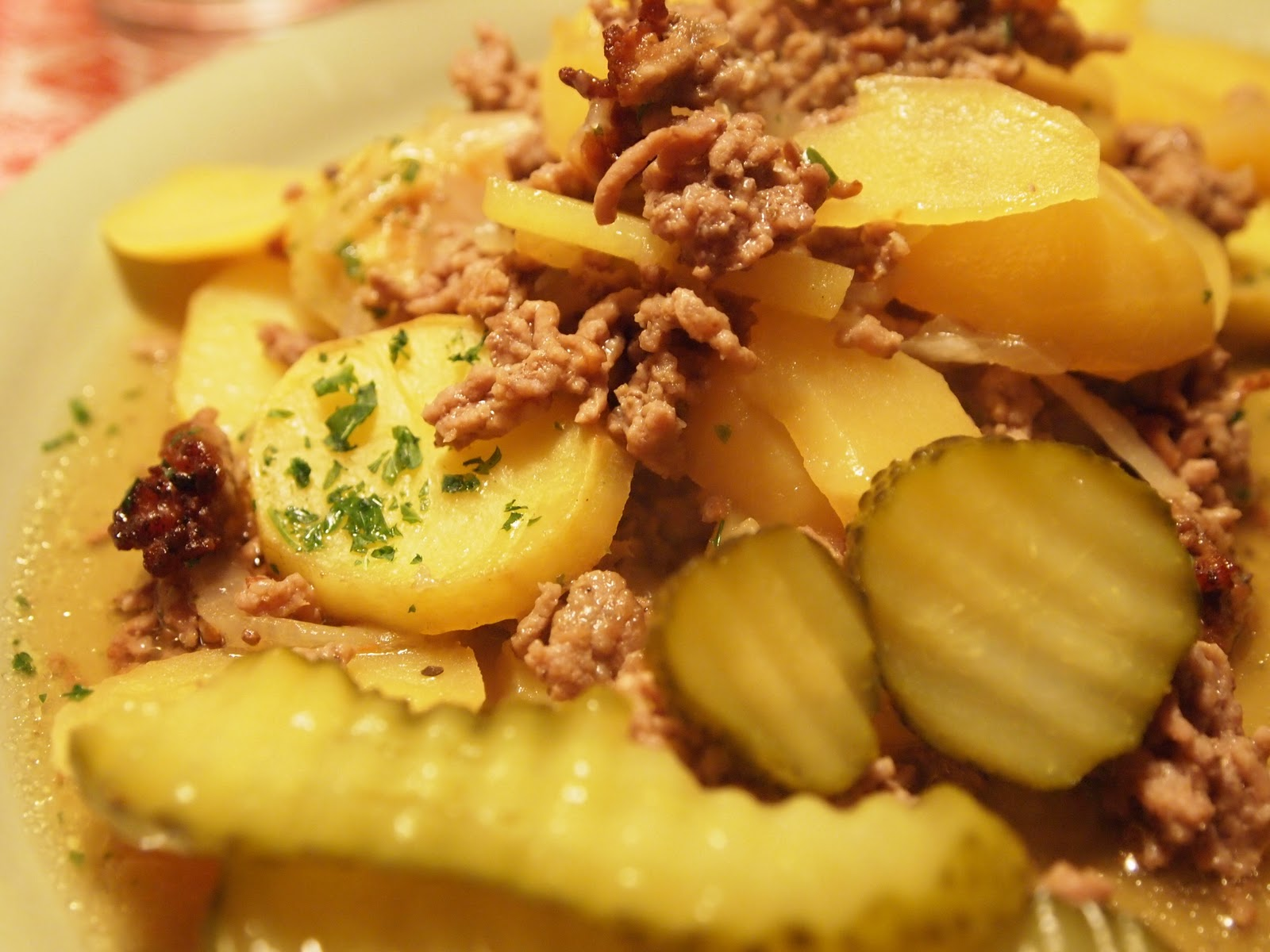 Enkel mat med köttfärs
