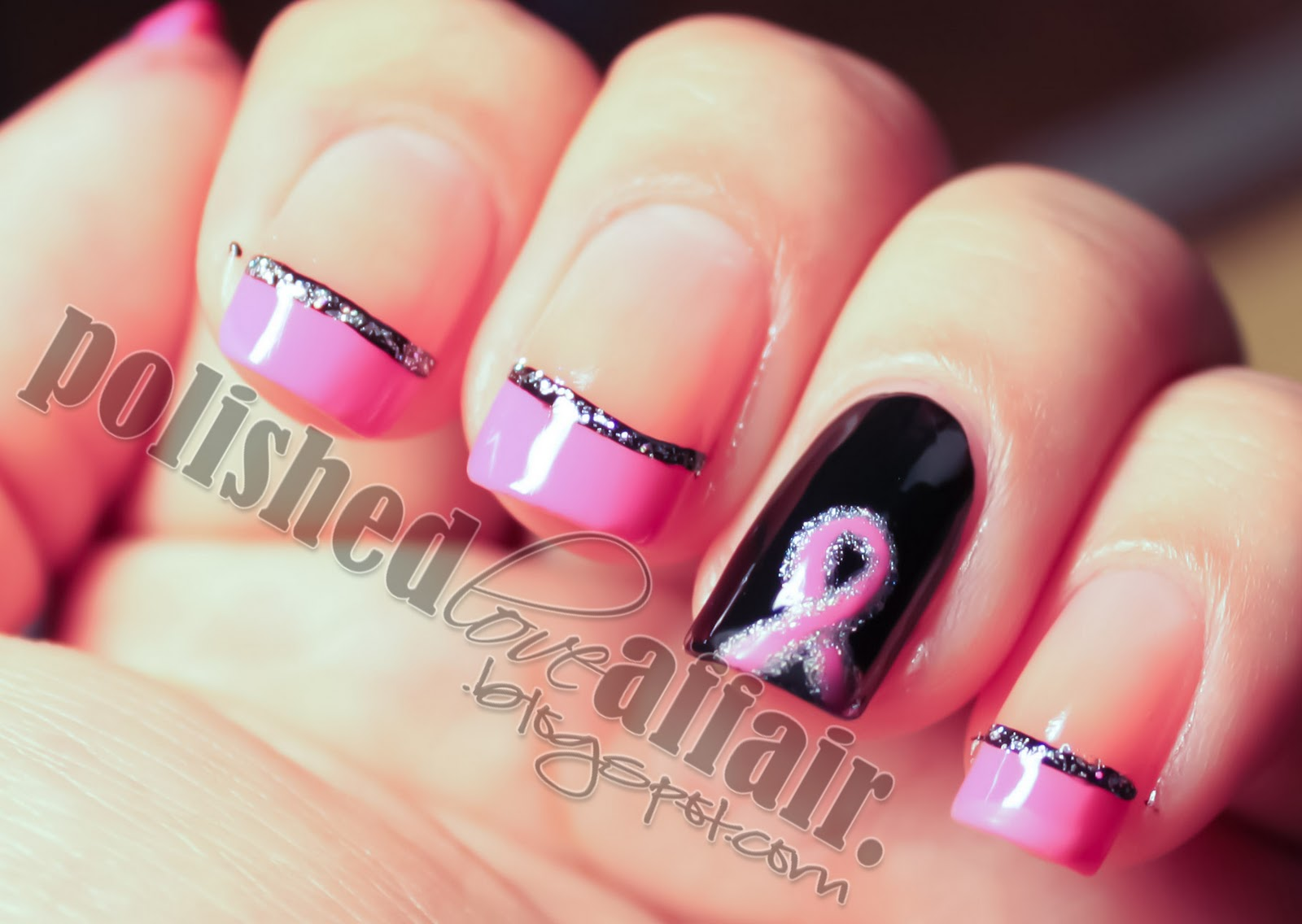 Nail tip designs tutorial