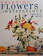 painting flowers in watercolor charles reid book libro como pintar flores a la acuarela