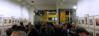 EXPOSICIÓN acuarelistas vascos bilbao akros gallery acuarela inauguración regalar navidad