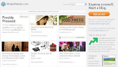 Membuat Blog di Wordpress.com