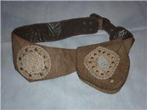 Cartucheira rústica - aspecto medieval