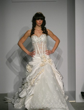 Say no to the dress why paying the rent should be a for See through corset wedding dresses