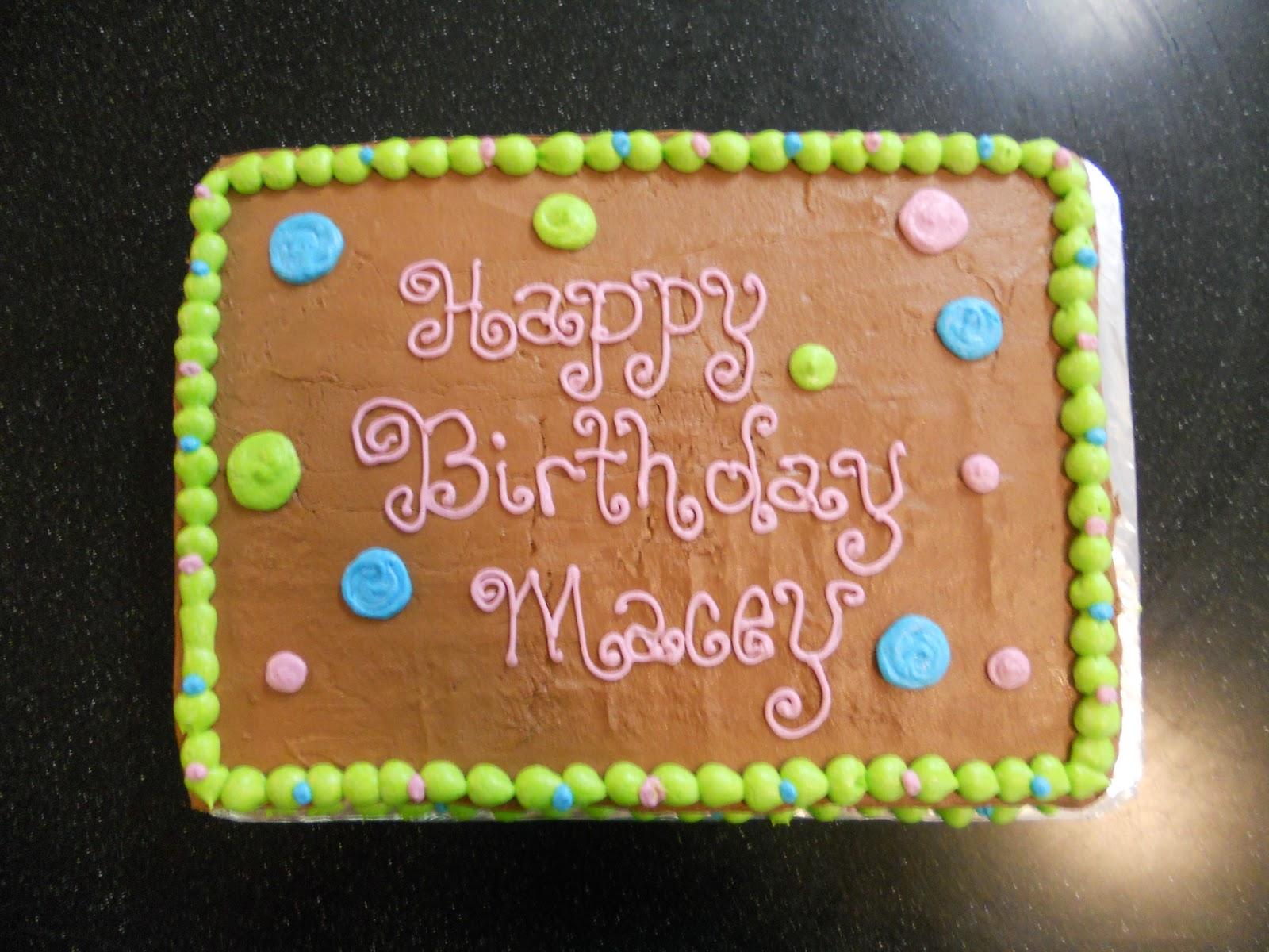 Just Like Grandma S Macey S Polka Dot Cake