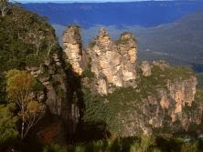 Blue mountains  Oz