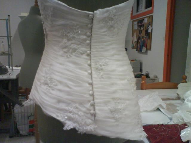 Alta Costura: 13.- Vestido de novia