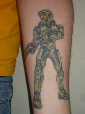 and naturally there are a fair number of video game tattoos in the mix.
