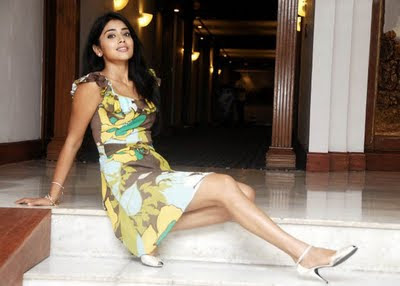 Actress Shriya at idea mobile show pics